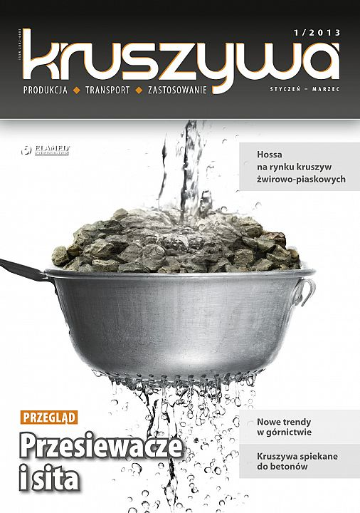 Kruszywa wydanie nr 1/2013